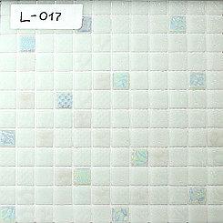 Перламутровая мозаичная плитка белый