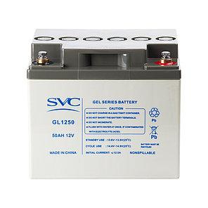 Батарея SVC GL1250 гелевая 12В 50 Ач, фото 2