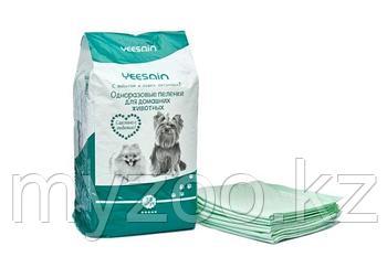 Пеленки YEESNIN 60*45 см уп. 30 шт |Одноразовые пеленки для домашних животных|