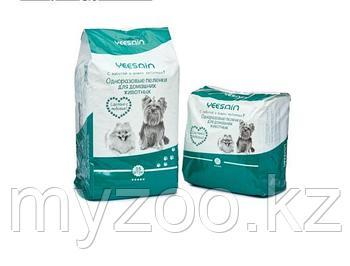Одноразовые пеленки для домашних животных YEESNIN размер 60*60 см в упаковке 35 шт