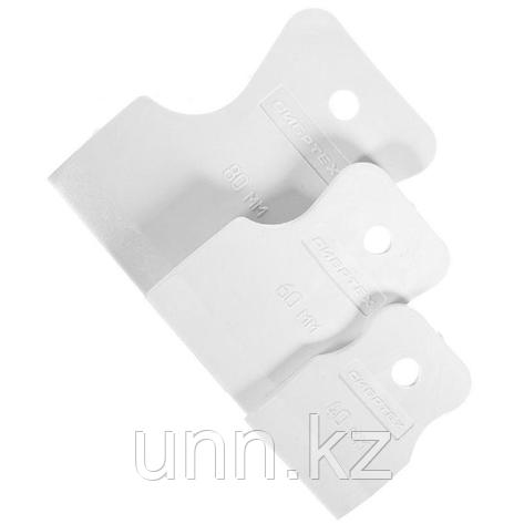 Шпатель резиновый 3 в1 бел, фото 2