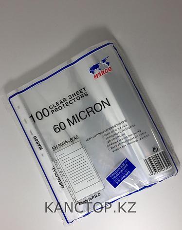Файл вкладыш А5 MARGO 60 мкр прозрачный, фото 2