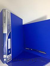 Папка с пружиной А4 синяя