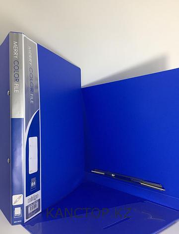 Папка с пружиной А4 синяя, фото 2