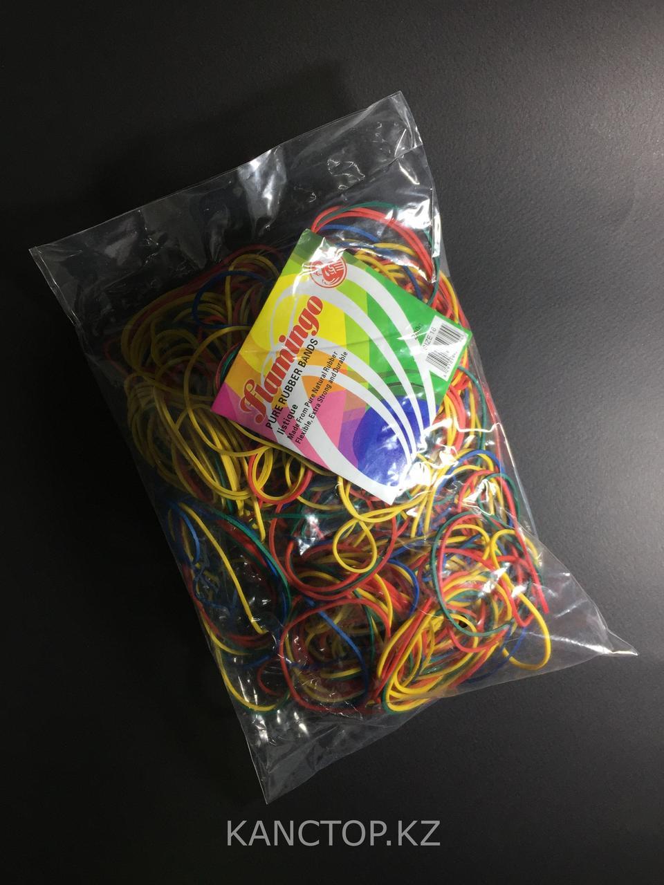 Резинки для денег FLAMINGO 200 гр разноцветные