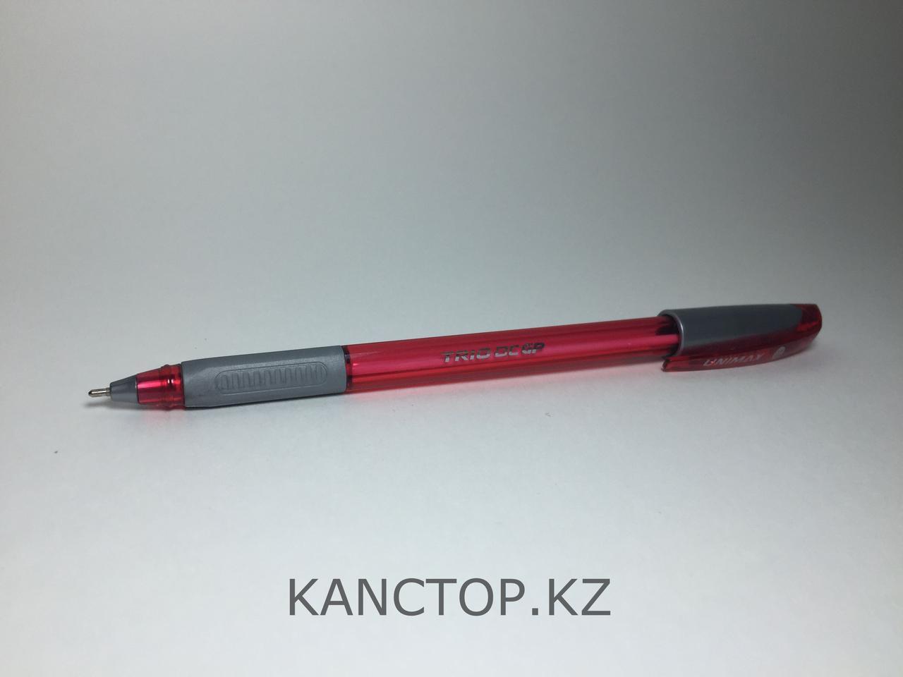 Ручка шариковая UNI-MAX TRIO DC GP красная