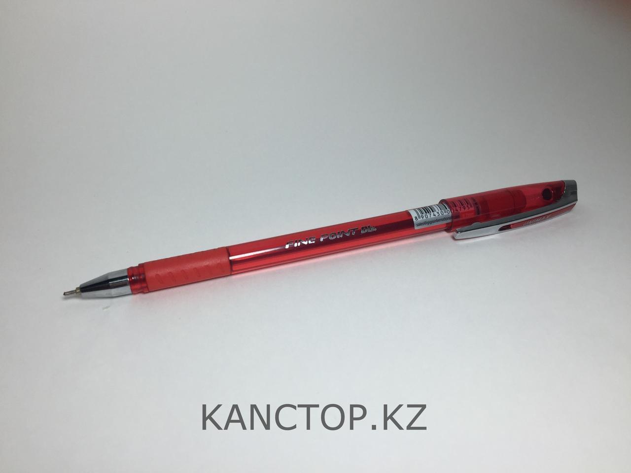 Ручка шариковая UNI-MAX FINEPOINT DLX Красная