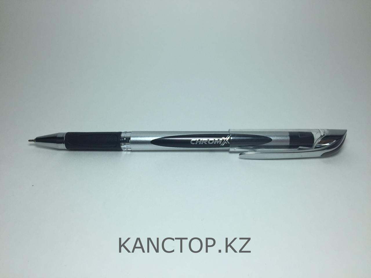 Ручка шариковая UNI-MAX CHROMX Черная