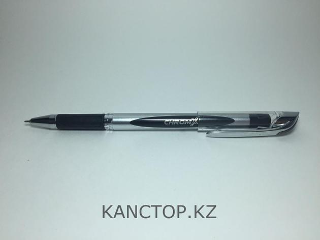 Ручка шариковая UNI-MAX CHROMX Черная, фото 2