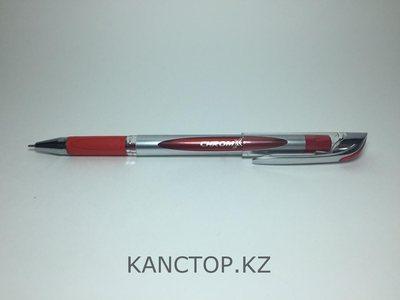 Ручка шариковая UNI-MAX CHROMX Красная