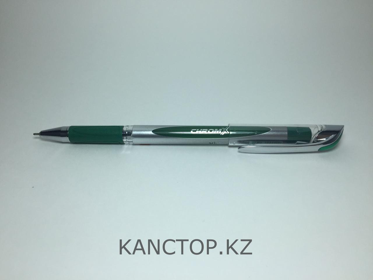 Ручка шариковая UNI-MAX CHROMX Зеленая
