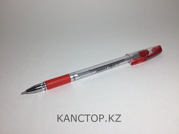 Ручка шариковая UNI-MAX POINT 07 красная, фото 2