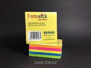 Бумага клейкая для заметок FANTASTICK 3х3, 350 листов