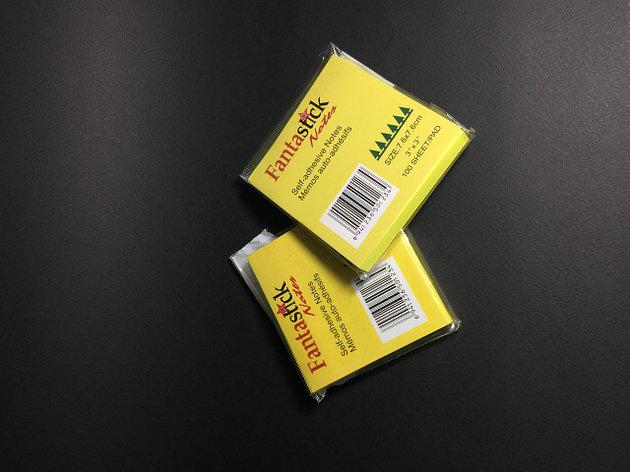 Бумага клейкая для заметок FANTASTICK 3х3, 100 листов, фото 2