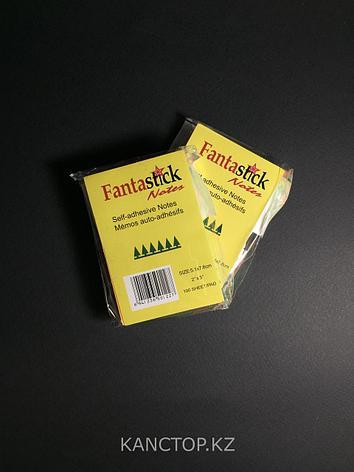 Бумага клейкая для заметок FANTASTICK 2х3, 100 листов, фото 2