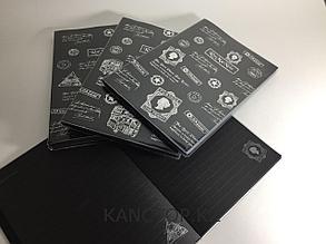 Блокнот креативный с черными страницами РОМАНТИКА А5