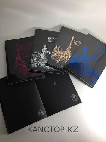 Блокнот креативный с черными страницами ПАРИЖ А5, фото 2