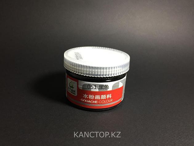 Краски гуашевые черные CHINJOO 100мл, фото 2