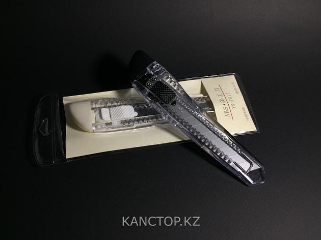 Нож канцелярский ABS маленький, фото 2