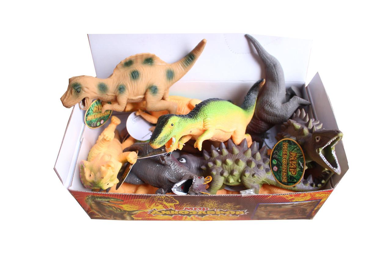 Набор динозавров 7210