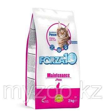 Forza10 Maintenance, Форца 10 повседневный корм для кошек из рыбы, уп. 10кг.