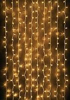 """Светодиодная гирлянда """"Дождь"""" - 6Х2 метра, 640 лампочек, тёплый свет, светит постоянно"""
