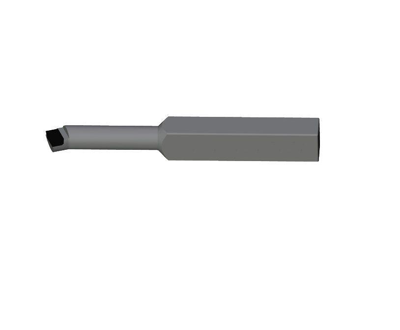 Резец токарный расточной для сквозных отверстий 20х20х170
