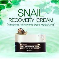 Восстанавливающий крем для лица с фильтратом слизи улитки,Deoproce Snail Recovery Cream