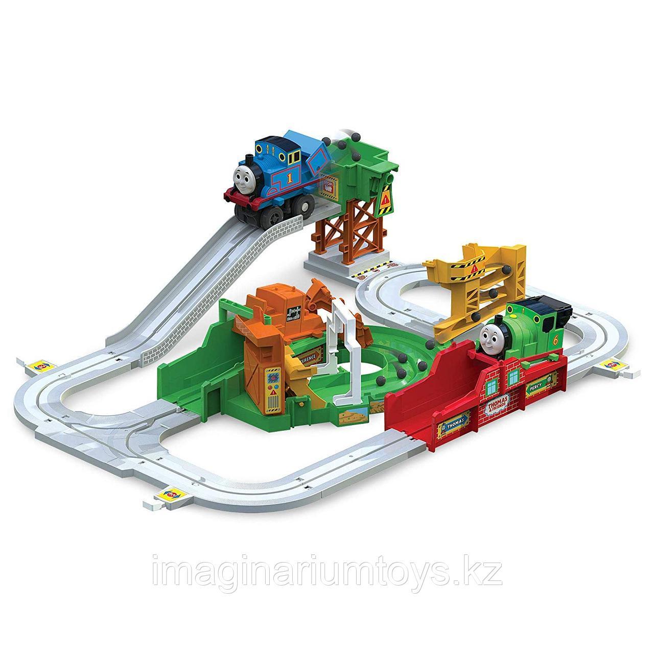 Детская железная дорога с паровозиком Томасом