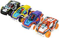 KLX600-16 Спортивная машина металл разбирайка с пятигранником,4цвета,8 шт в упаковке 13*5см, фото 1