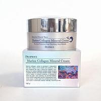 Минеральный крем с морской водой и коллагеном,DEOPROCE Marine Collagen Mineral Cream