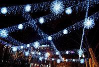Монтаж освещения, монтаж новогоднего оформления ,уличное освещение, монтаж электрики в доме