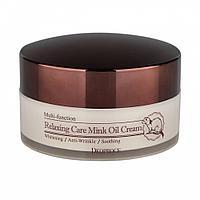 Расслабляющий крем для лица с маслом норки,DEOPROCE Relaxing Care Mink Oil Cream