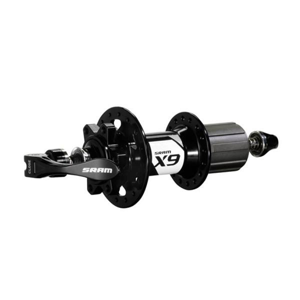 Sram  втулка  задняя  диск MTB -  X9 V2 Black 6-Bolt  28H 135 OLD 9mm QR included