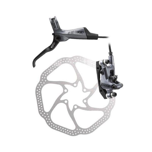 Sram  дисковый тормоз  Elixir 3 Grey Left Front 160mm HS1 0IS 850mm hose