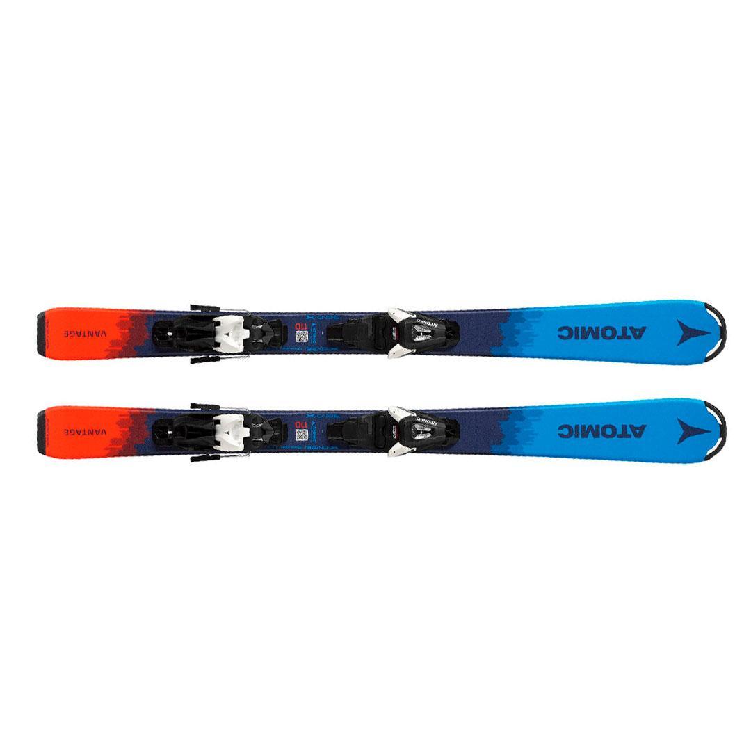 Atomic  лыжи горные Vantage Jr 130-150 + C 5 Gw black-white