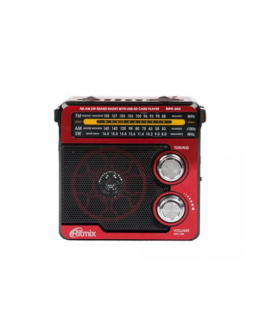 Радиоприемник RITMIX RPR-202 red