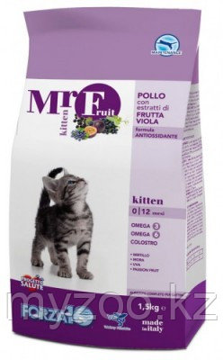 Forza10 Mr. Fruit Kitten, Форца 10 Мр. Фрут корм для котят, уп. 1,5кг.