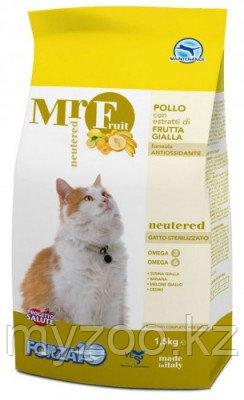 Forza10 Mr. Fruit Neutered, Форца10 Мр. Фрут корм для стерилизованных кошек, уп. 400гр.