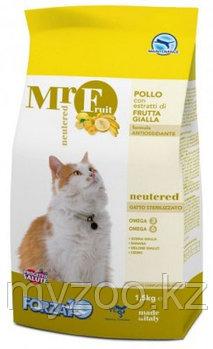 Forza10 Mr. Fruit Neutered, Форца10 Мр. Фрут корм для стерилизованных кошек, уп. 1,5кг.