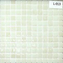 Перламутровая мозаичная плитка бело-бежевый