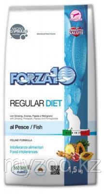 Forza10 Regular Diet, Форца10 диетический корм для кошек из рыбы, уп.400г.