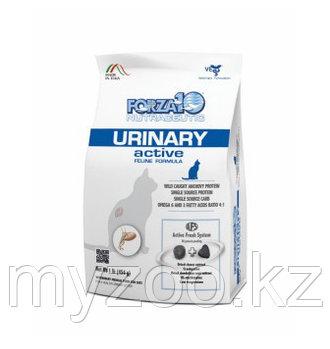 Forza10 Urinary Active, Форца 10 ветеринарная диета при проблемах моче-половой системы у кошек, уп. 454гр.