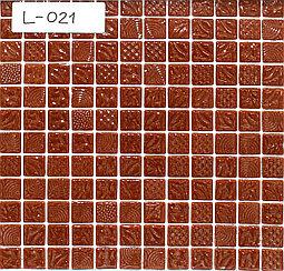 Перламутровая мозаичная плитка светло-коричневый