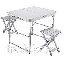 Стол кемпинговый + 2 стула NORFIN BOREN