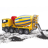 Бетономешалка Scania  Bruder 03-554, фото 4