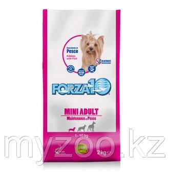 Forza10 Mini Adult Maintenance, Форца10 корм из рыбы для собак мелких пород, уп. 2кг.