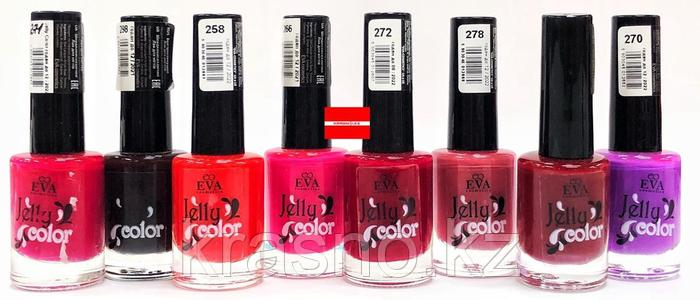 Лак 12мл для ногтей Jelly color