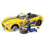 Внедорожник Ram с автомобилем Roadster Bruder 02-504, фото 5