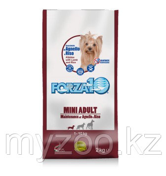 Forza10 Maintenance smallmedium, Форца10 с ягненком и рисом для мелких и средних пород, уп. 2кг.